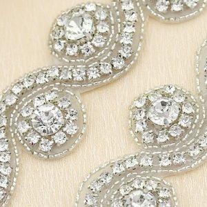 Bridal Embellishment Crystal Appliqué